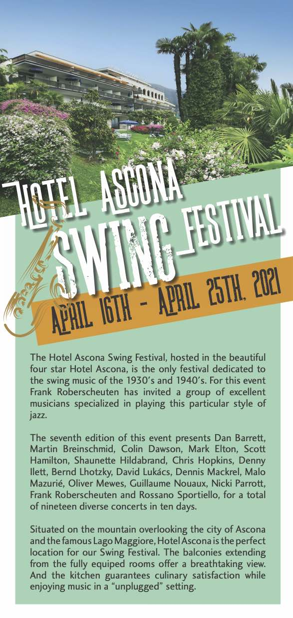 Hotel Ascona Swing Festival